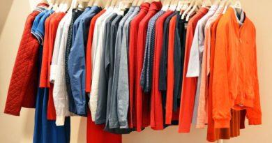 barvy šatník